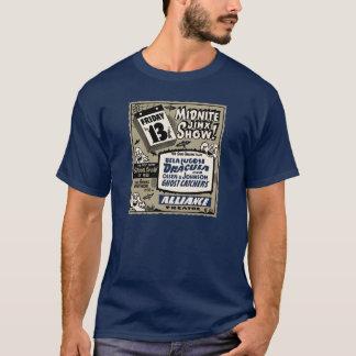 Vintage Midnight Jinx Show Spook Show Poster Art T-Shirt