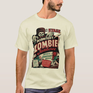"Vintage ""Midnight Zombie Jamboree"" T-Shirt"