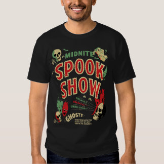 Vintage Midnite Spook Show Poster Shirt