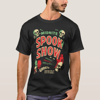 Vintage Midnite Spook Show Poster T-Shirt