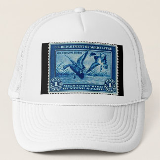 "Vintage Migratory Bird Hunting Stamp-1935"" Trucker Hat"