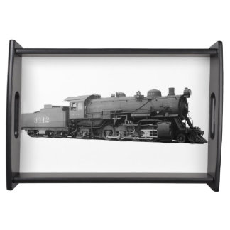 Vintage Mikado Steam Engine Train Serving Tray