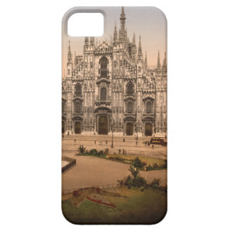 Vintage Milan Cathedral and Piazza Italy iPhone 5 Case