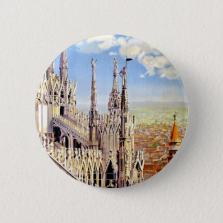 Vintage Milano Travel Button