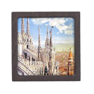 Vintage Milano Travel Keepsake Box