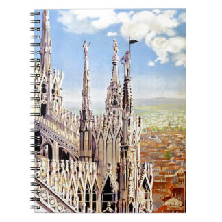 Vintage Milano Travel Spiral Notebook