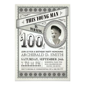 Funny 100th Birthday Invitations Announcements Zazzle
