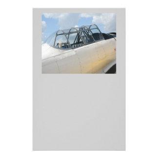 Vintage Military Aircraft Cockpit Flyers