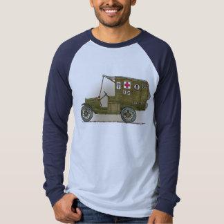 Vintage Military Ambulance Adult Shirt