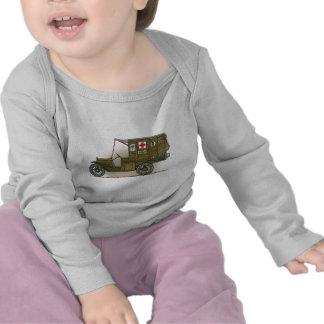 Vintage Military Ambulance Baby T-Shirt