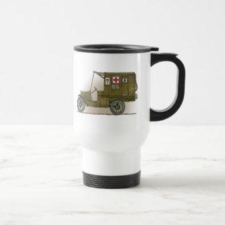 Vintage Military Ambulance Travel Mug