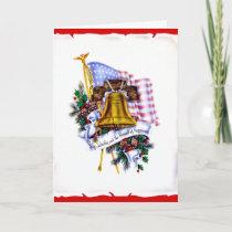 Vintage Military Christmas Card