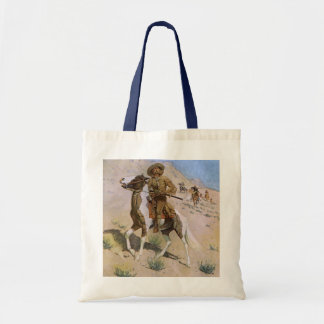 Vintage Military Cowboys, The Scout by Remington Tote Bag