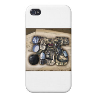 Vintage Military Issue Gear iPhone 4 Covers