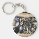 Vintage Military Issue Gear Keychain