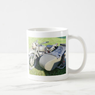 Vintage Military Motorcycle Combination Coffee Mug