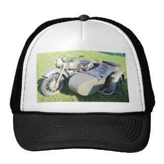 Vintage Military Motorcycle Combination Trucker Hat