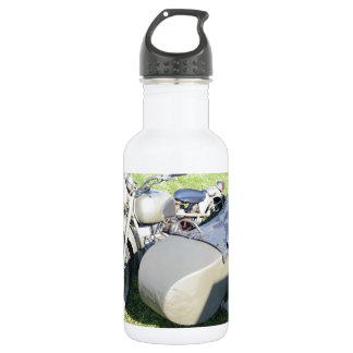 Vintage Military Motorcycle Combination Water Bottle