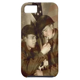 Vintage Military Photo Tough iPhone 5C Case