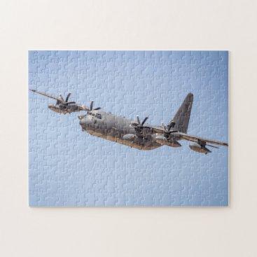 Vintage Military Plane Puzzle