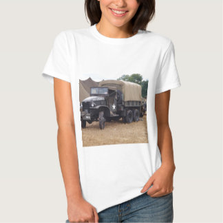 Vintage Military Truck T Shirts