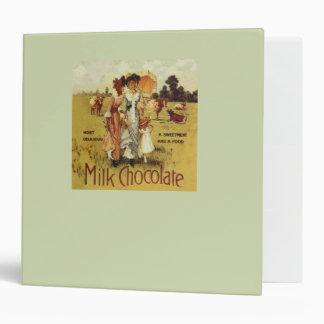 Vintage Milk Chocolate Cow Party Binder