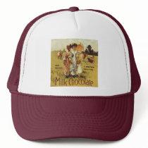 Vintage Milk Chocolate Cow Party Trucker Hat