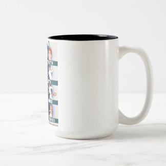 Vintage Milk for Health WPA Poster Two-Tone Coffee Mug