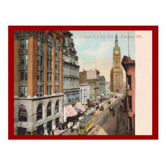 Vintage Milwaukee Wisconsin Tarjeta Postal