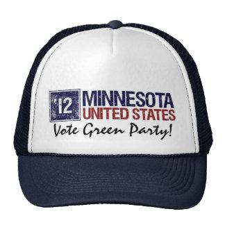 Vintage Minnesota del Partido Verde del voto en 20 Gorros