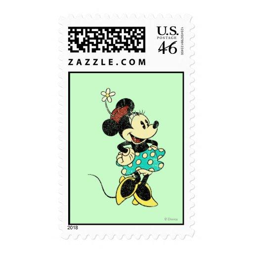 Vintage Minnie Mouse 1 Sellos