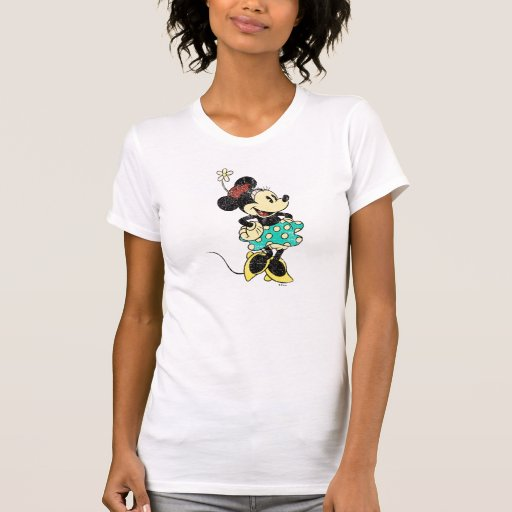 Vintage Minnie Mouse 1 Tee Shirts