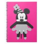 Vintage Minnie Mouse de Pook-a-Looz Cuaderno