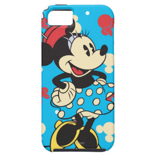 Vintage Minnie Mouse iPhone 5 Protectores