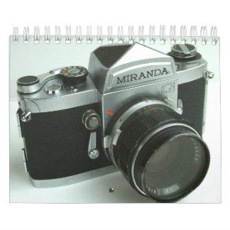 Vintage Miranda G 35mm SLR Camera Calendar 2013
