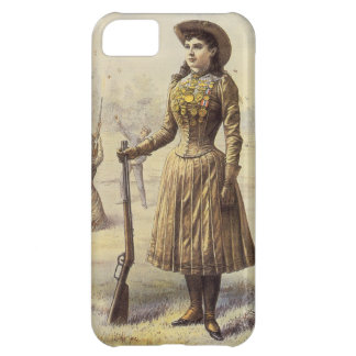 Vintage Miss Annie Oakley, Western Cowgirl iPhone 5C Cover