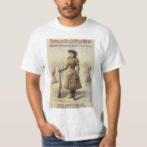 Vintage Miss Annie Oakley, Western Cowgirl T-Shirt