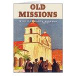 Vintage Missions Santa Barbara Cards