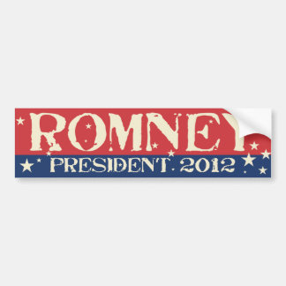 Vintage - Mitt Romney President 2012 Bumper Sticker