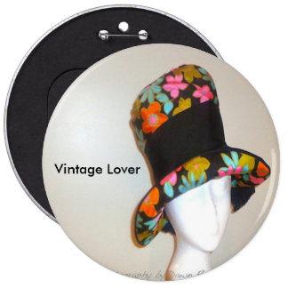 Vintage Mod Hat Pin