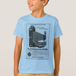 Vintage Modak Camera Ad Kids T-Shirt