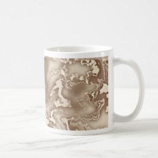 Vintage Modern Art Squiggle Design Coffee Mug