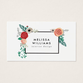 Floral design business cards tiredriveeasy floral design business cards cheaphphosting Image collections