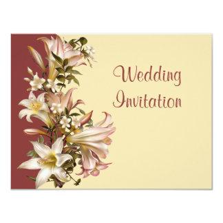 Vintage Modern Wedding Invitation