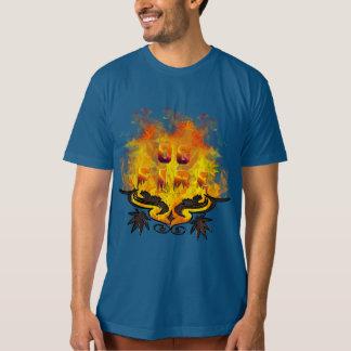 Vintage Modern Weed fire og cannabis desing T-Shirt