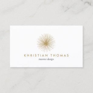 Interior decorator business cards templates zazzle vintage modernist interior designer decorator business card colourmoves