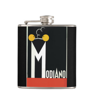 Vintage Modiano Cigarette Papers Flask