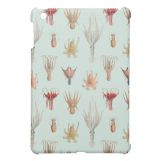 Vintage Mollusks (Blue) Cover For The iPad Mini
