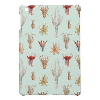 Vintage Mollusks (Blue) iPad Mini Covers