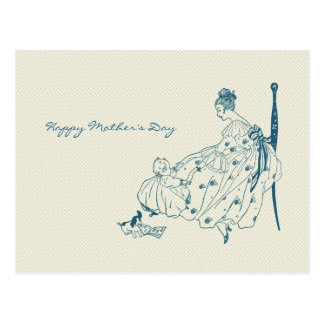Vintage mom and child - Happy Mother's Day Post Cards